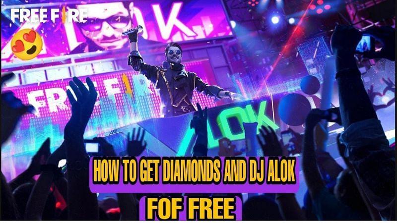 Free Fire में डायमंड्स और DJ Alok को मुफ्त में कैसे प्राप्त करें? Image credit: ff.garena.com