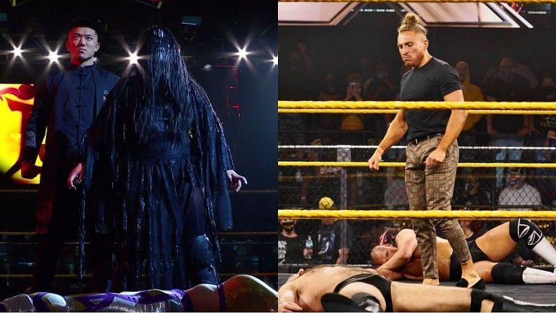 WWE NXT के एपिसोड के दौरान कुछ रोचक चीजें देखने को मिलीं।