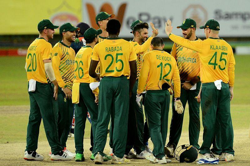 दक्षिण अफ्रीका vs श्रीलंका, पहला टी20