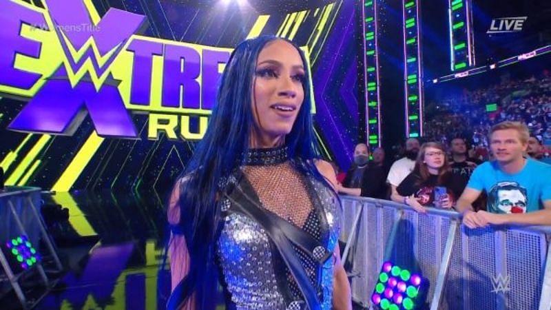 WWE Extreme Rules 2021 में साशा बैंक्स की जबरदस्त वापसी