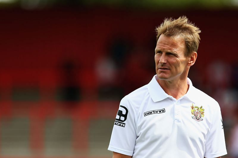 Former Manchester United player Teddy Sheringham. (Photo by Matthew Lewis/Getty Images)