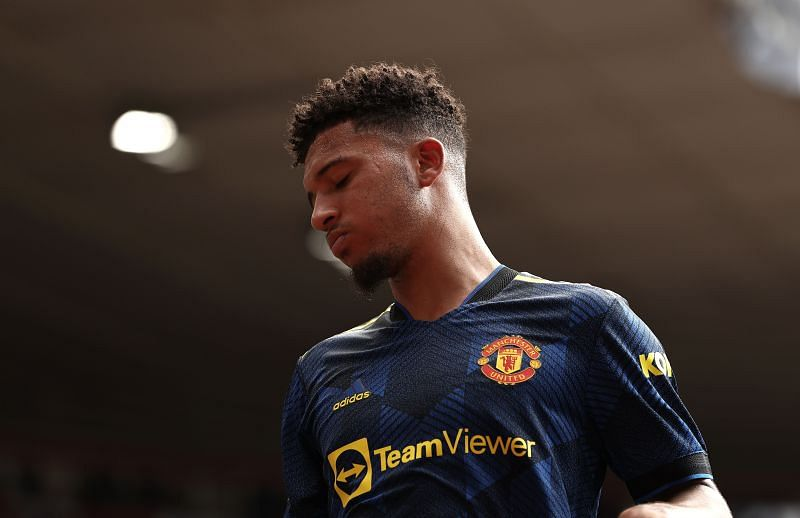 Jadon Sancho has picked up an injury while on international duty