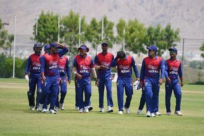 नेपाल ने अंत तक उम्मीदें बरकरार रखी और मैच जीत लिया