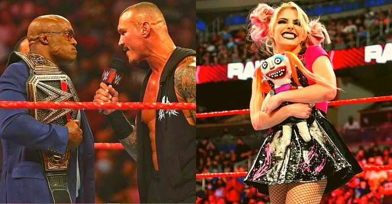 Orton and Lashley are on a collision course while Alexa revealed what was on her mind to Charlotte