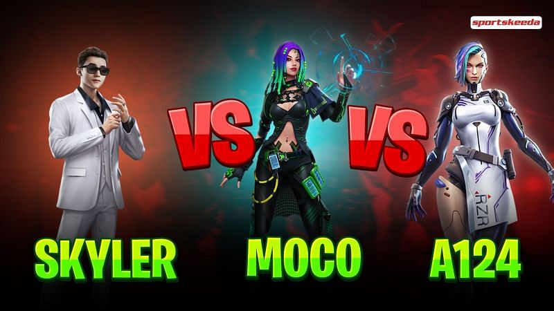 Skyler vs Moco vs A124: Who is the best for aggressive gameplay?