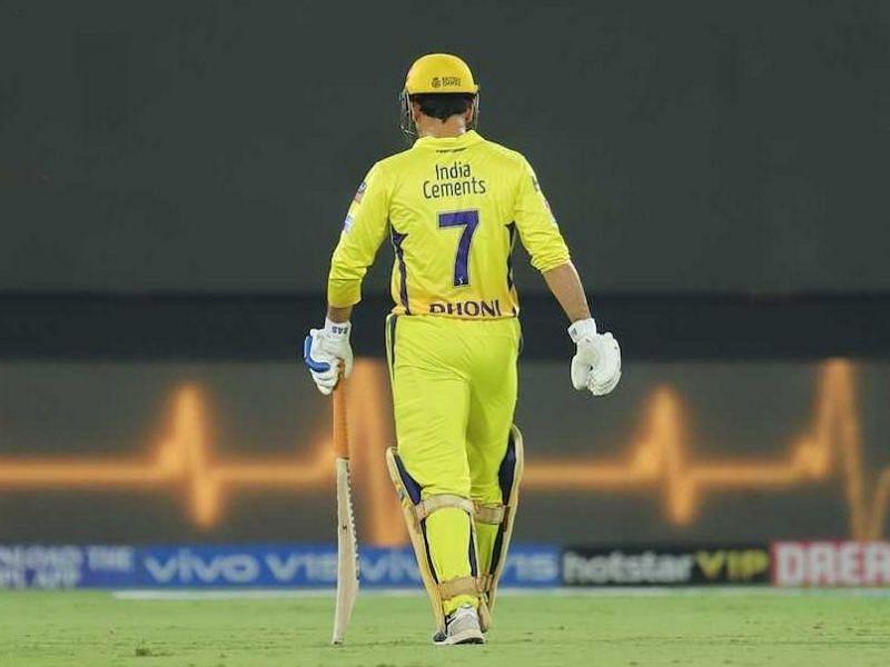 Since IPL 2020, MS Dhoni has struggled with the bat. (Photo: BCCI)