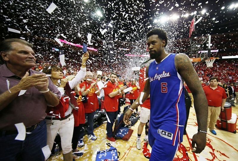 DeAndre Jordan has played the most games for the LA Clippers