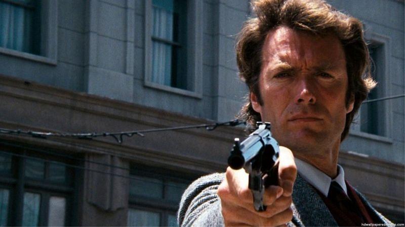 5 of Clint Eastwood's best films (Dirty Harry Free Wallpaper via Alpha Coders)