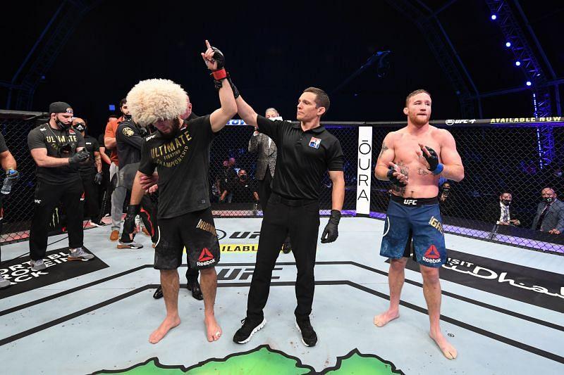 UFC 254: Khabib Nurmagomedov vs Justin Gaethje