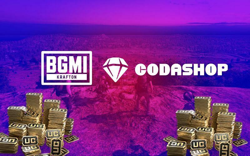 Players can top up BGMI UC from Codashop (Image via Sportskeeda)