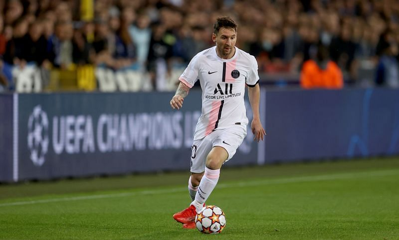 Lionel Messi has made three appearances in the PSG shirt so far