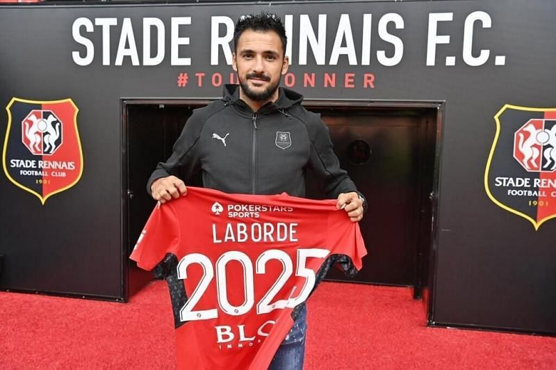 Can striker Gaetan Laborde make the difference for Rennes against Reims this weekend?