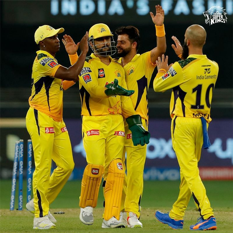 MS Dhoni led with conviction to start CSK's UAE leg off with a win (PC: CSK Twitter )
