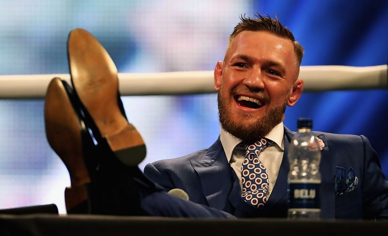 Conor McGregor's outlandish, outspoken personality could be straight out of WWE