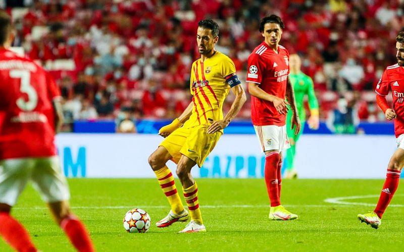 बार्सिलोना का बोन्फिका के खिलाफ 3-0 से करारी हार मिली।