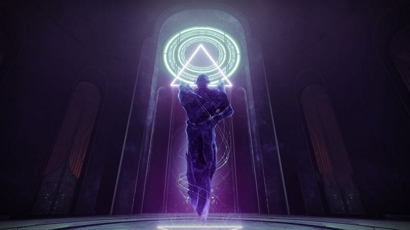 The Destiny 2 Season of the Lost central character, The Witch Queen Savathun (Image via Bungie)