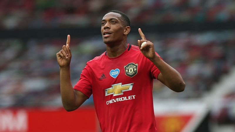 Anthony Martial's inconsistent form has pushed him down the pecking order at the club (Image via Manchester United)