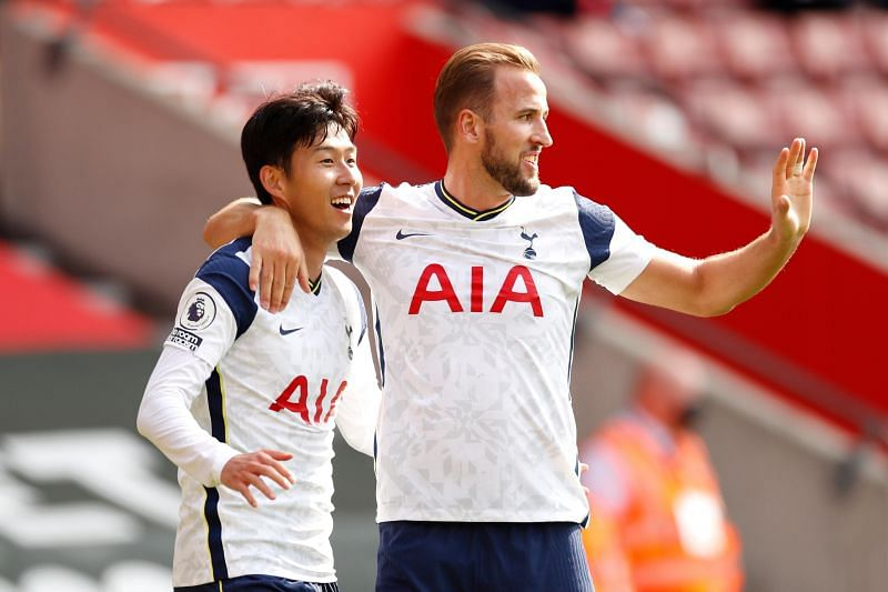 Kane and Son together scored 40 league goals and made 24 assists