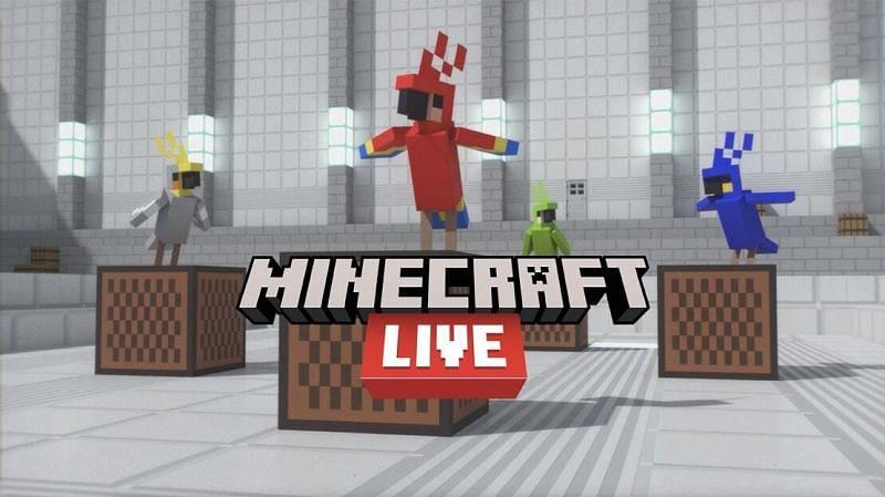 Minecraft Live 2021 is coming (Image via Mojang)