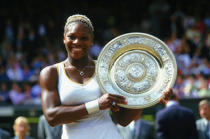 Serena Williams beat sister Venus in 2002 to win her first Wimbledon title..