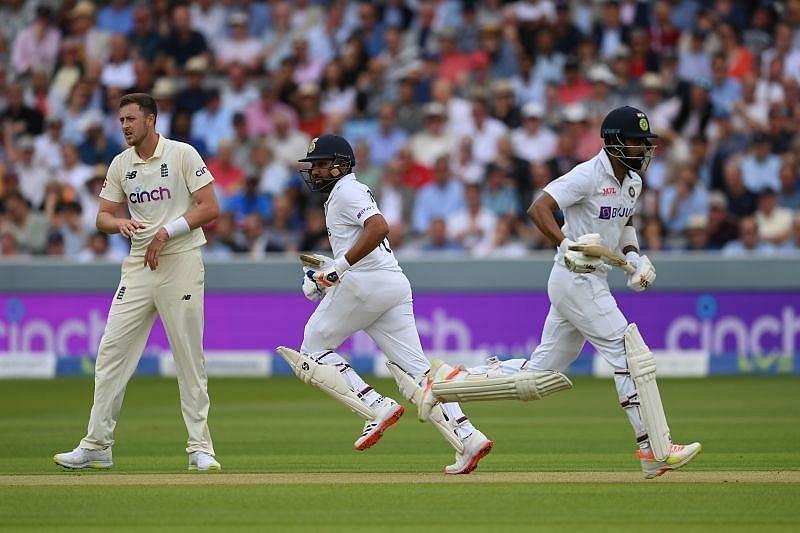भारतीय टीम ने दूसरी पारी में बिना किसी नुकसान के 43 रन बना लिए हैं