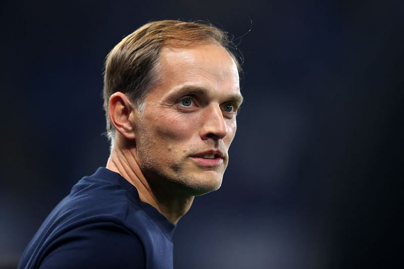 Chelsea manager Thomas Tuchel. (Photo by Catherine Ivill/Getty Images)