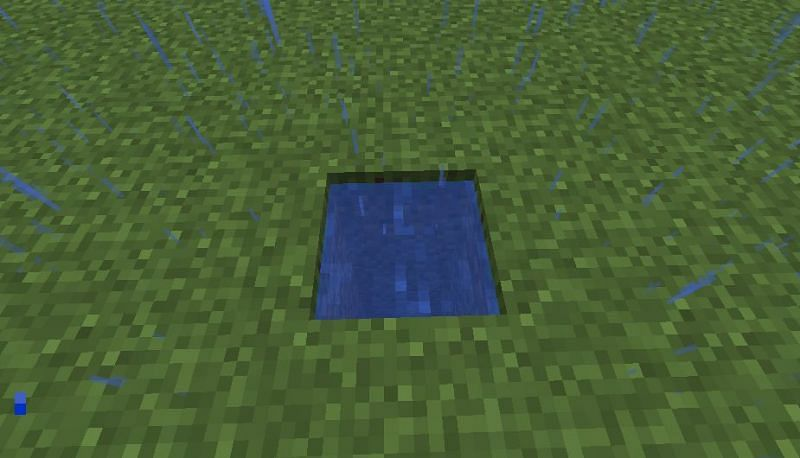 Pon el agua (Imagen a través de Minecraft)