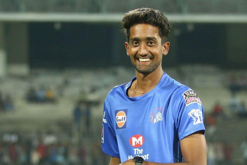 Chennai Super Kings left-arm spinner Sai Kishore