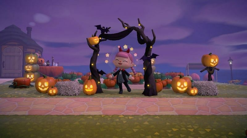 Players can grow pumpkins during October (Image via Animal Crossing world)