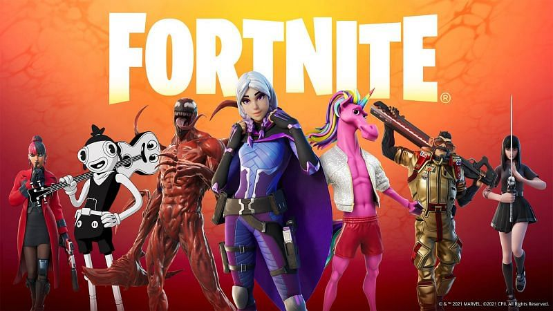 Fortnite Cubed has brought to the game a lot of new skins, map changes, weapons and more. (Image via Epic Games)