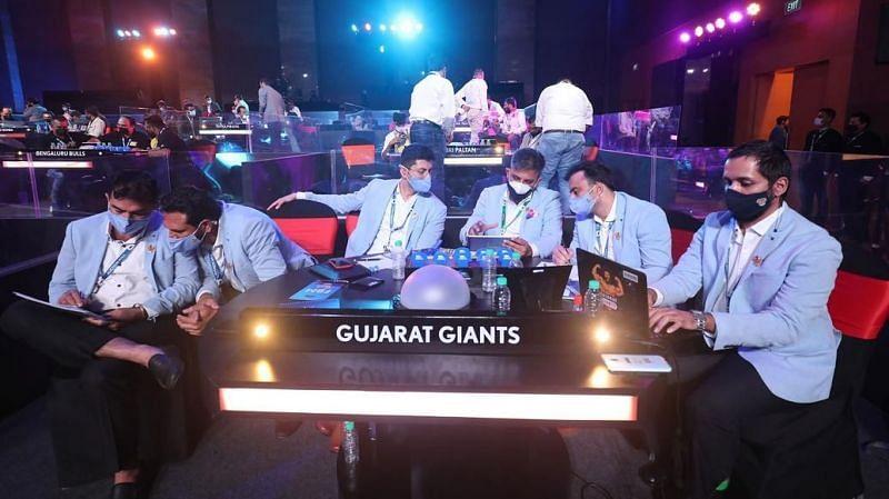 Gujarat Giants at PKL Auction 2021