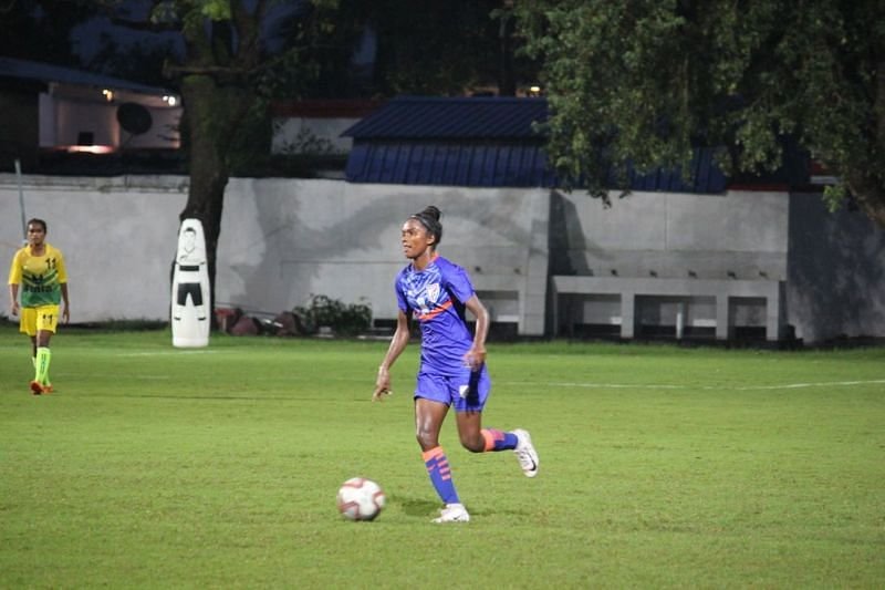 Sumati Kumari is confident of India's chances at the AFC Women's Asian Cup in 2022. (Credits: AIFF)