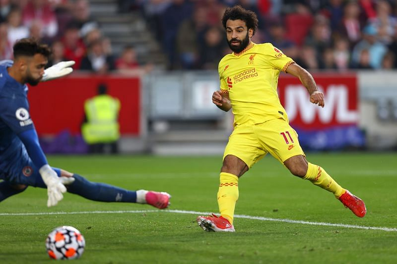Salah scored the 100th goal of the league for Liverpool