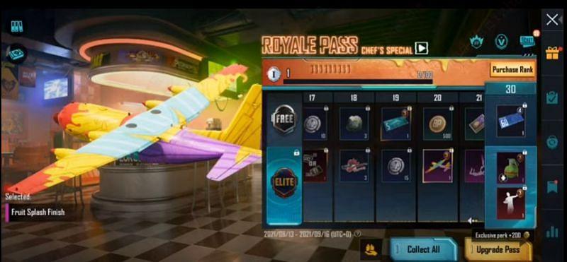 RP rank 20 reward in PUBG Mobile M3 RP (Image via Mad Tamizha YT / YouTube)