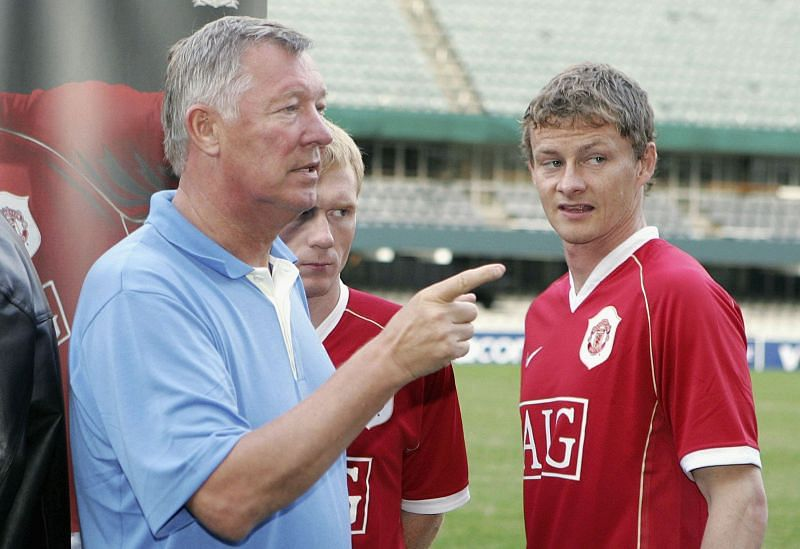 Ole Gunnar Solskjaer (Right) is Manchester United's manager for more than two years now