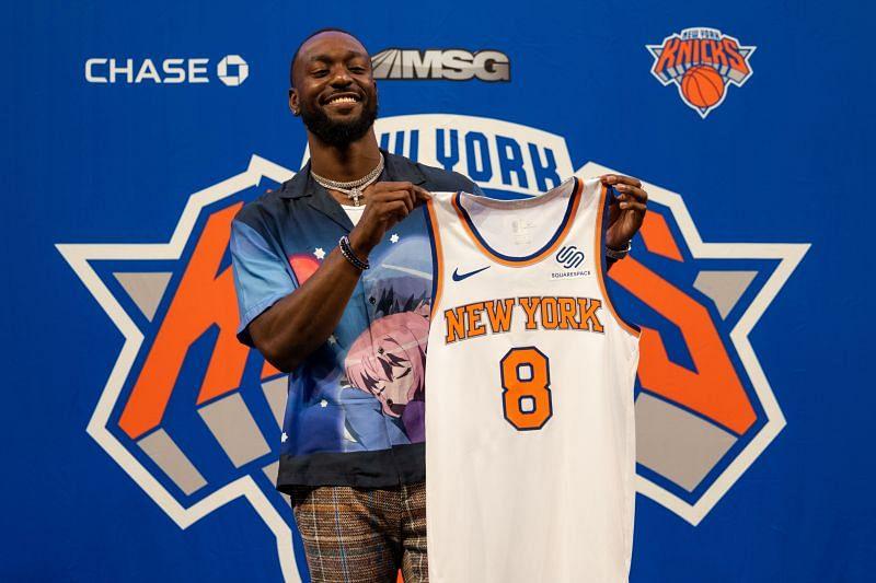 Kemba Walker #8 of the New York Knicks