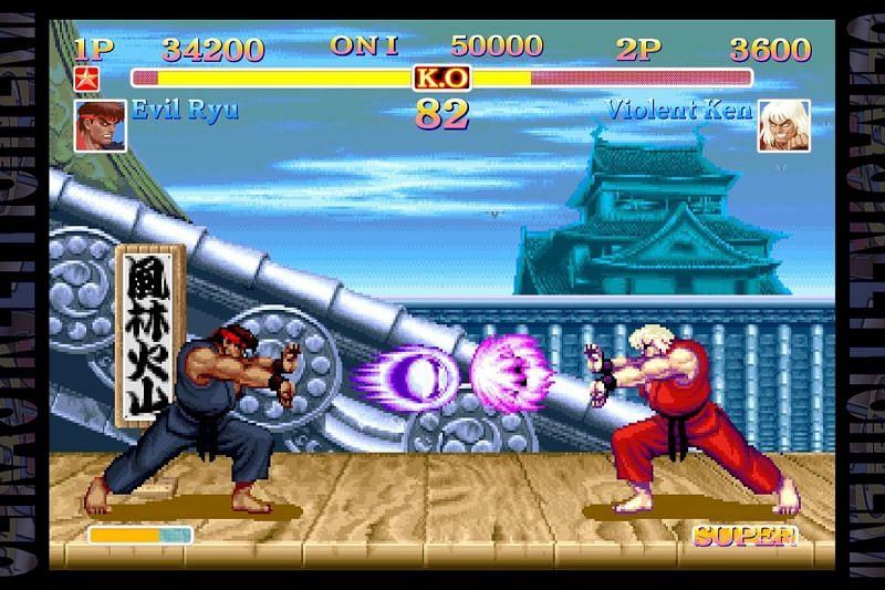 Its violent out here (Image via Street Fighter 2)