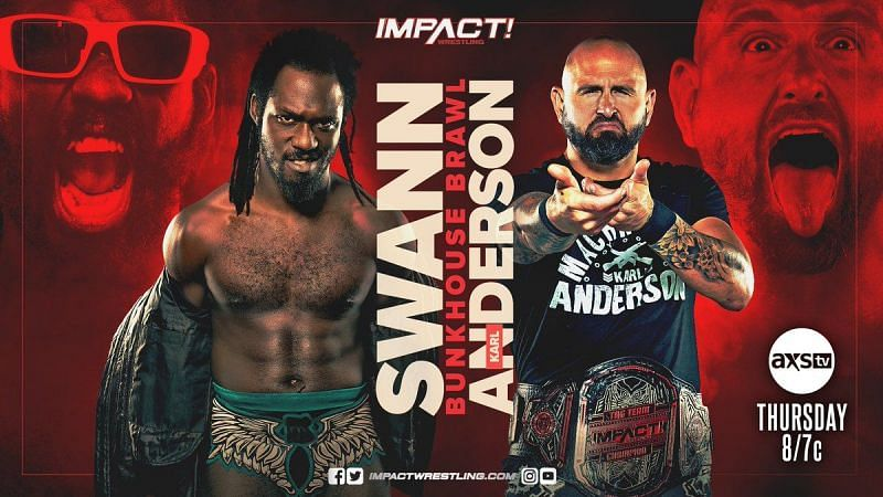 IMPACT Wrestling: Rich Swann took on Karl Anderson in a Bunkhouse Brawl