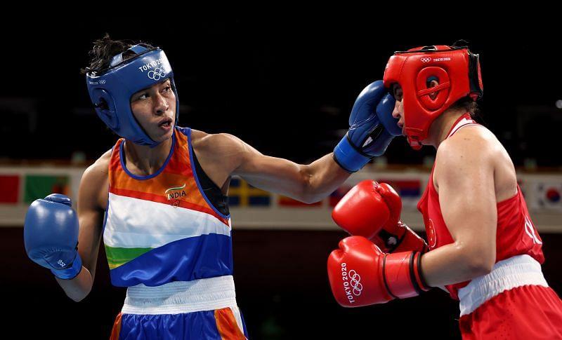 Lovlina Borgohain in Tokyo Olympics semifinal.