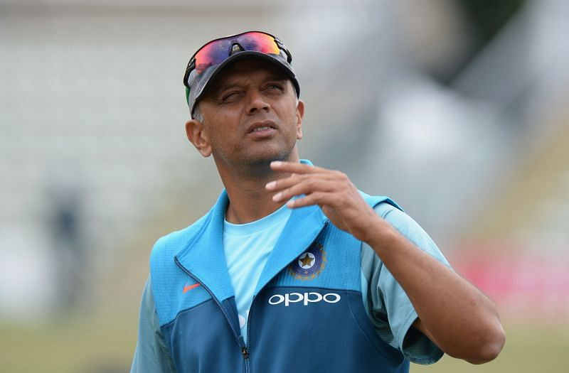 Rahul Dravid coached the Indian team in the absence of Ravi Shastri