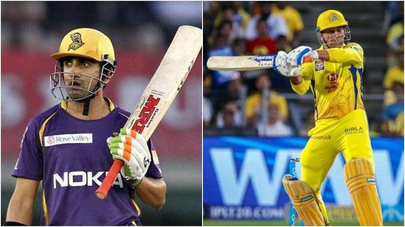 गौतम गंभीर और एमएस धोनी आईपीएल इतिहास के सफल बल्लेबाजों में से एक हैं
