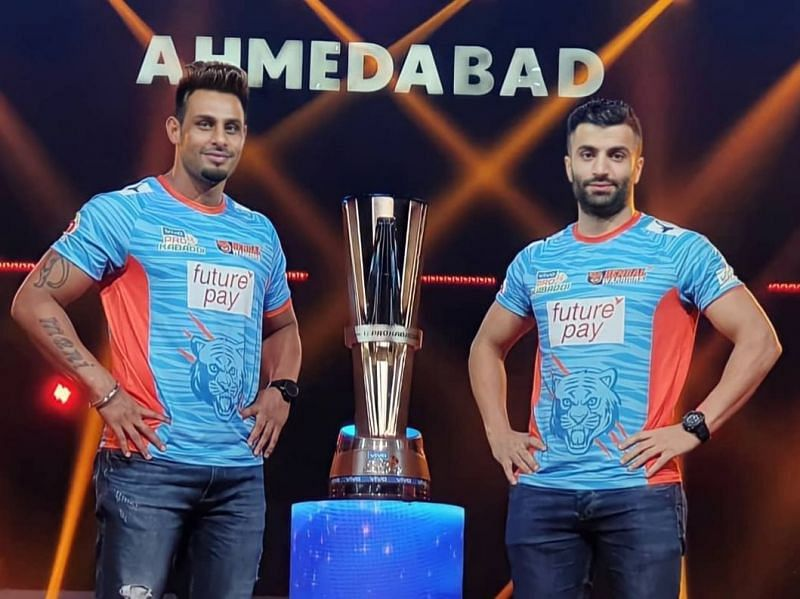 Maninder Singh and Mohammad Nabibakhsh will look to defend their title in PKL 8.