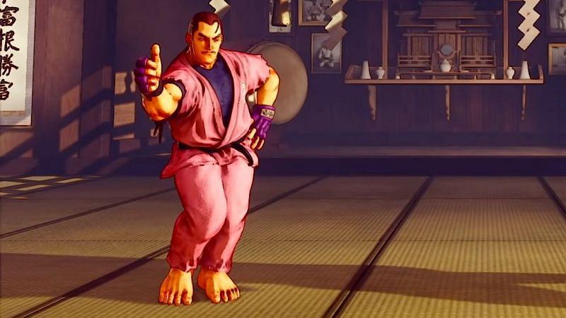 OSSU ! Dan Hibiki from Street Fighter V. (Image via Capcom)