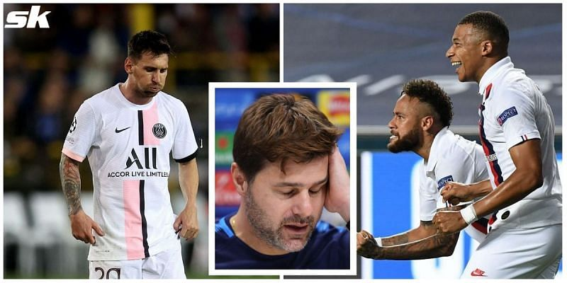 All isn't well between Lionel Messi and PSG boss Mauricio Pochettino at the moment