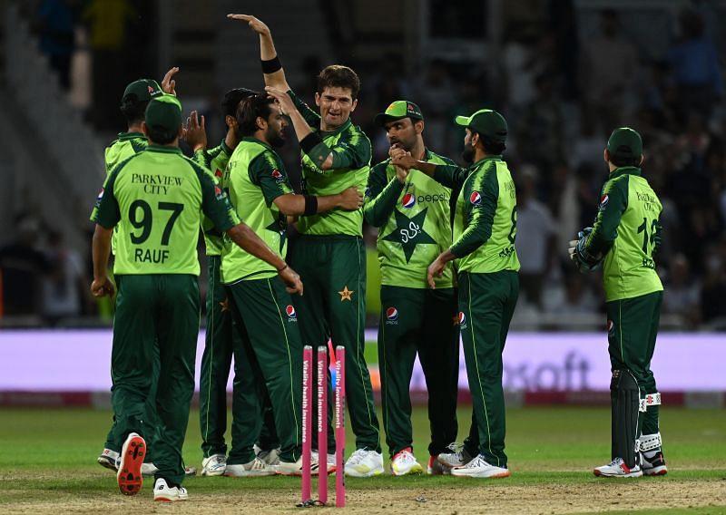 Pakistan cricket team. (Image Credits: Getty)