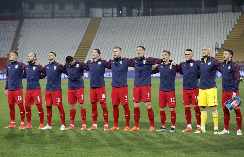 Republic of Ireland welcome Serbia to the Aviva Stadium