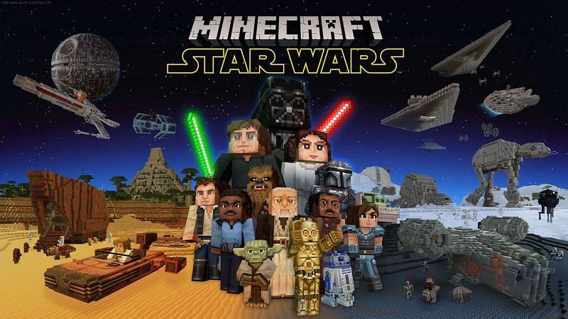 Minecraft Starwars mod (Image via Minecraft)