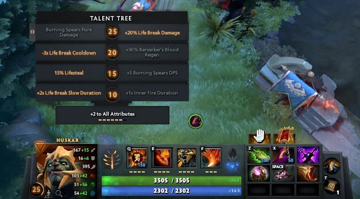A complete one-hit Life Break build in Dota 2 7.30c - only the first three items and the neutral item are required for the one-hit to work.