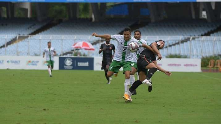 Army Green were beaten 2-0 by FC Goa in the Durand Cup.