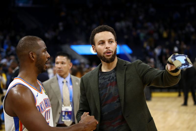 Chris Paul and Stephen Curry have the highest field goal shooting percentage among active point guards.